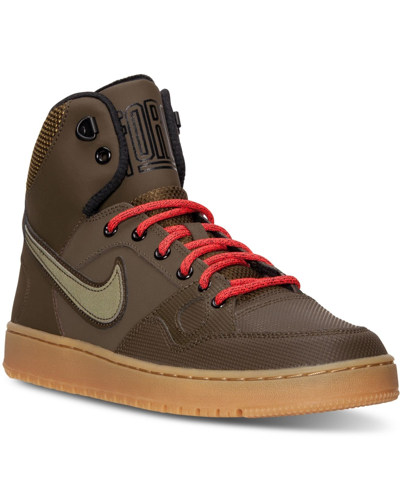 Nike Men's Son Of Force Mid Winter Casual Sneakers From ...