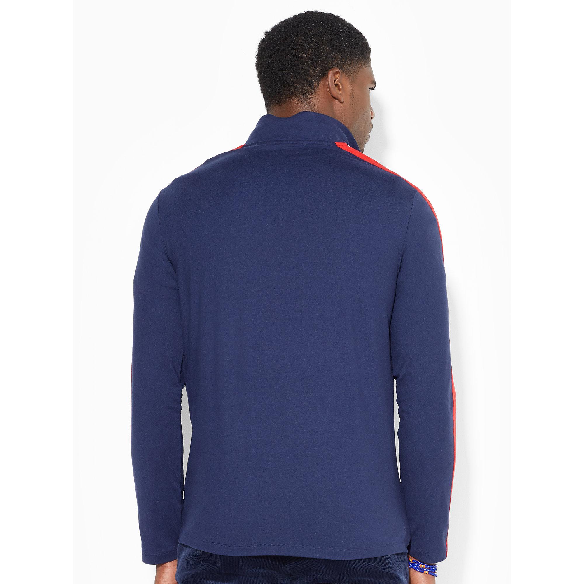 ralph lauren ryder cup jersey pullover in blue for men navy lyst. Black Bedroom Furniture Sets. Home Design Ideas