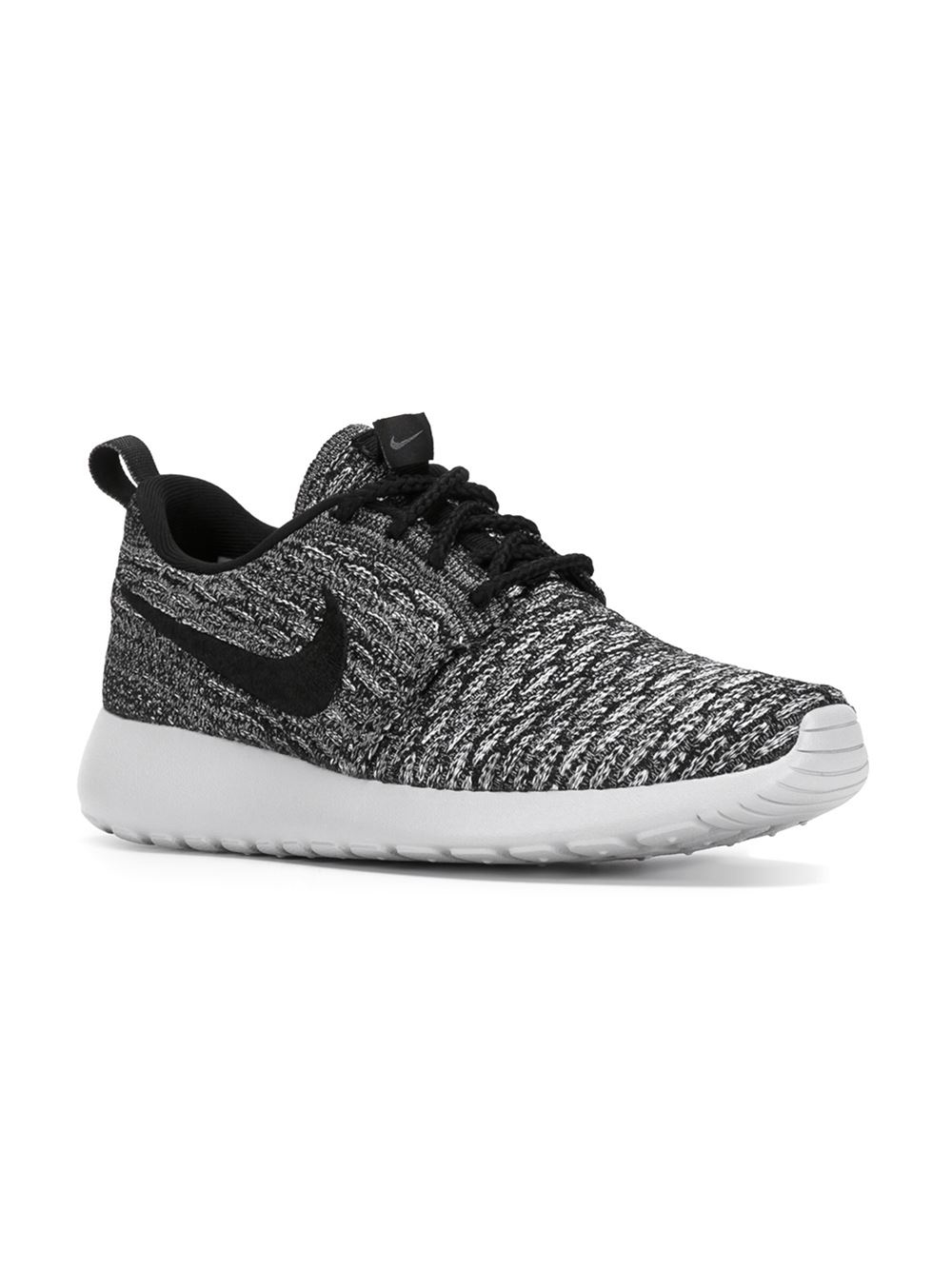 Nike 'roshe One Flyknit' Sneakers in Black | Lyst