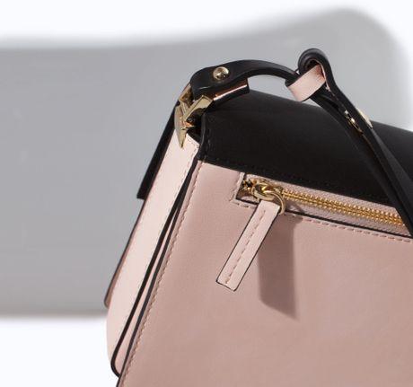 Zara Shoulder Bag With Metal Fastening 68
