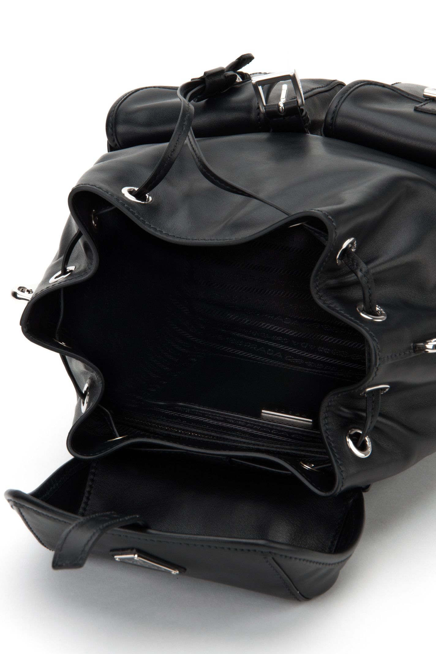 Prada Borsa Soft Calf in Black (NERO) | Lyst