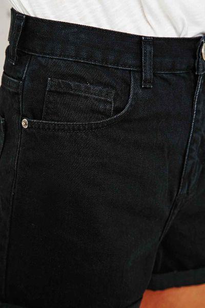 Curved Hem Denim Shorts Bdg Roll Hem Denim Shorts