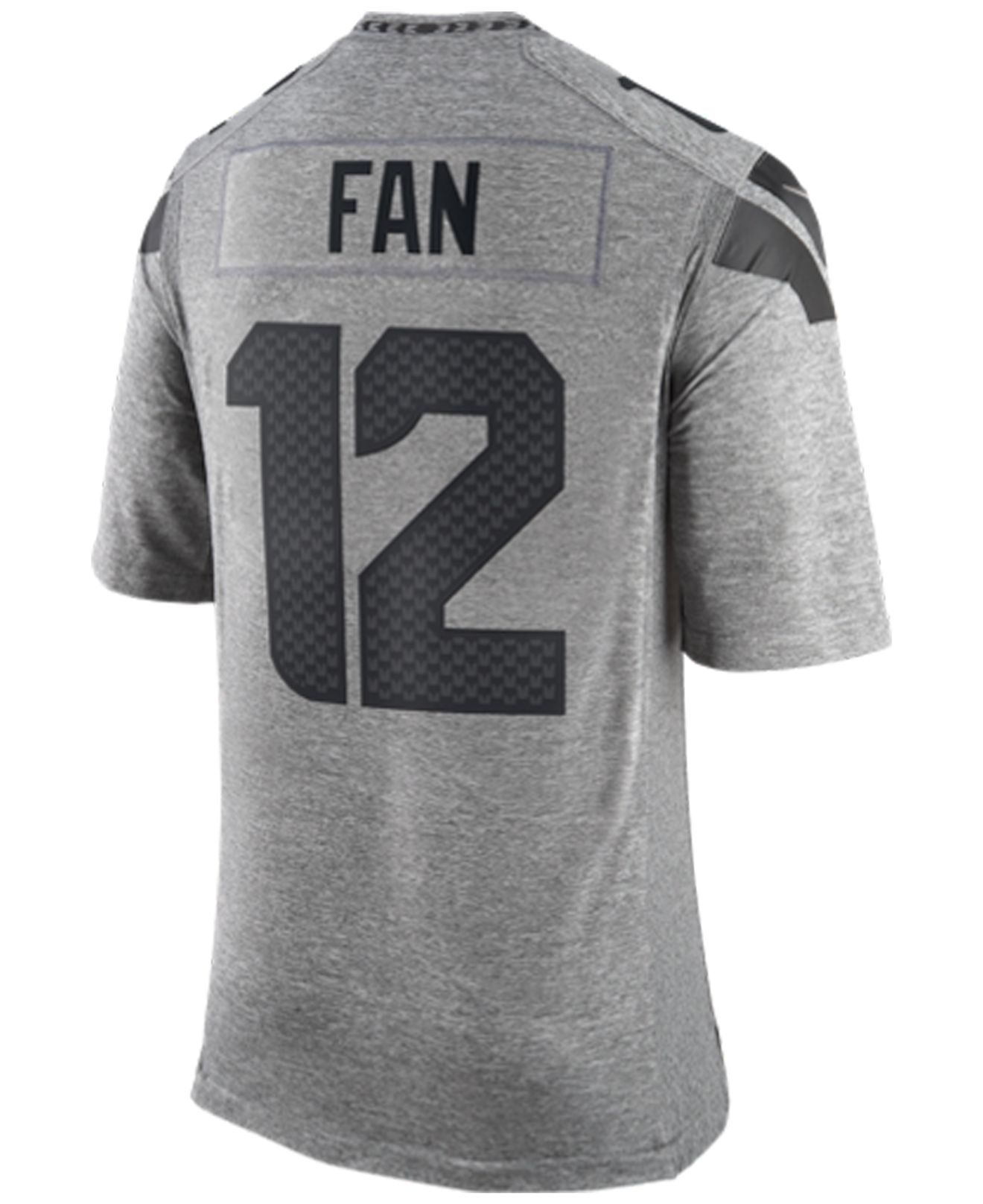 Men's Fan #12 Seattle Seahawks Gridiron Jersey