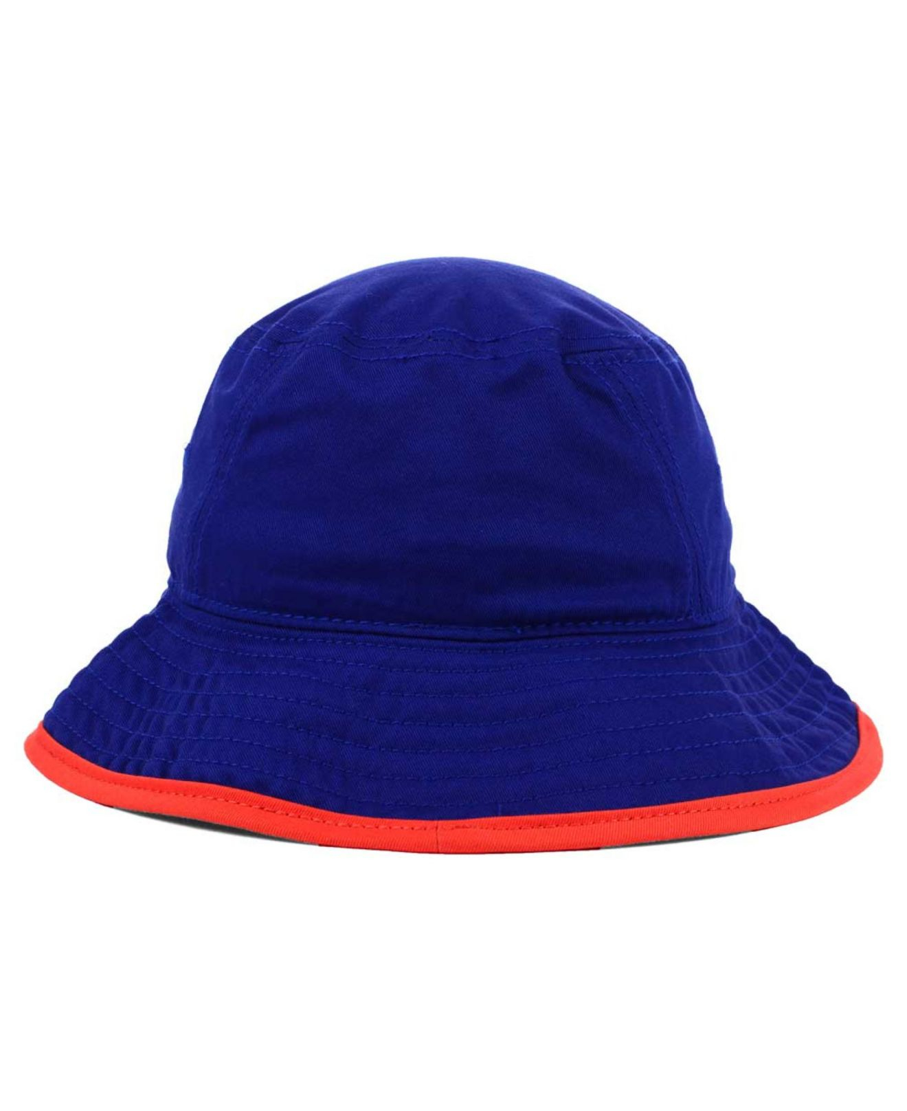 93ca1a9af597a ... uk lyst ktz new york islanders basic tipped bucket hat in blue for men  dd212 e5d17