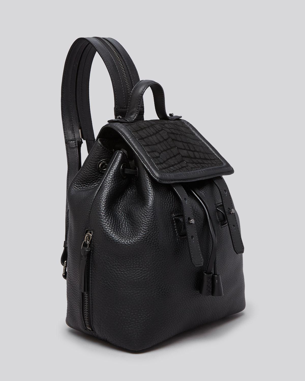 Lyst Mackage Backpack Tanner In Black
