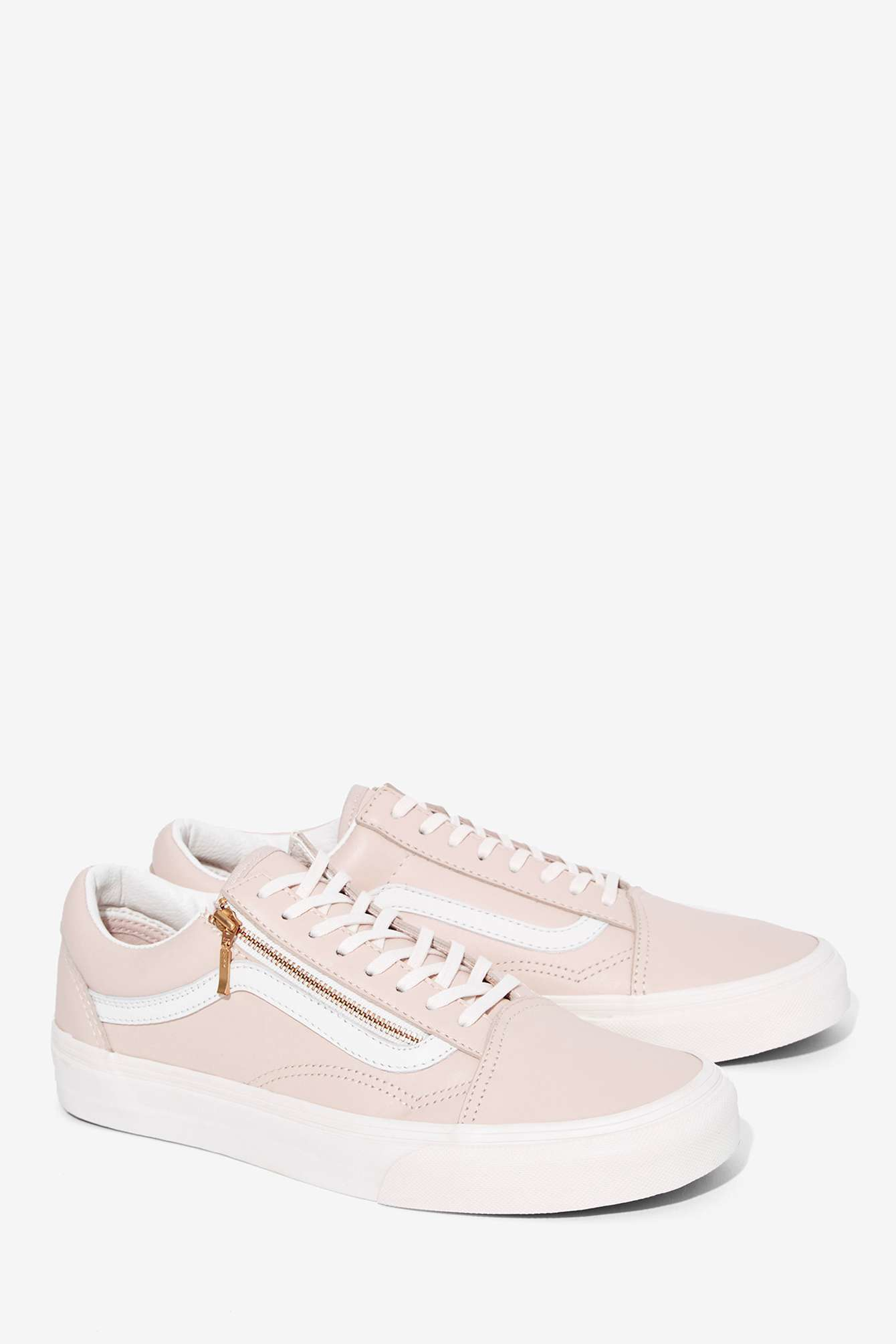 vans womens old skool zip trainer