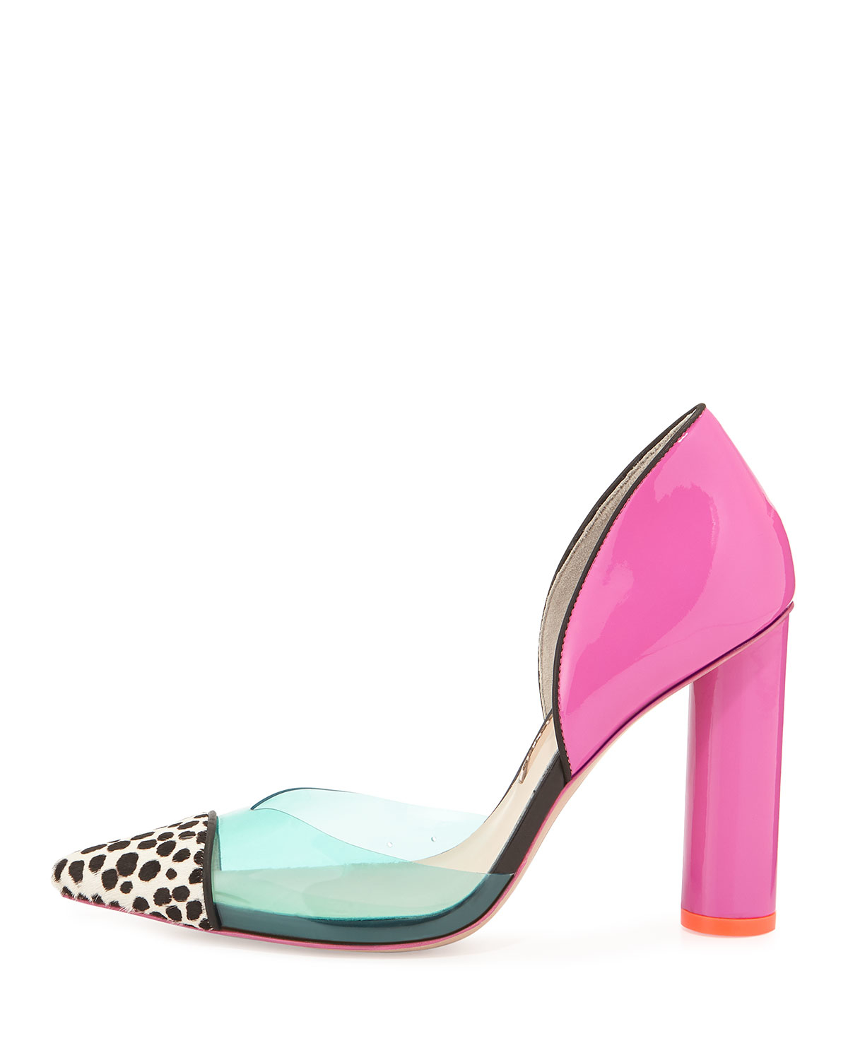 699503b78fa Lyst - Sophia Webster Jessica Color-Blocked Pumps in Pink