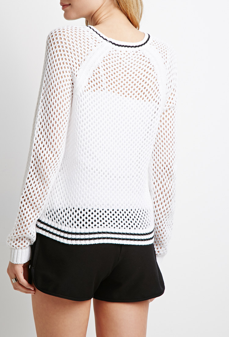 Varsity Stripe Sweater Forever 21 19