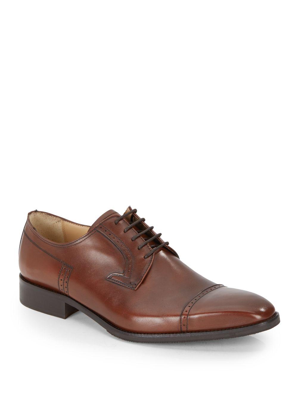 Saks Fifth Avenue Black Oxford Shoes