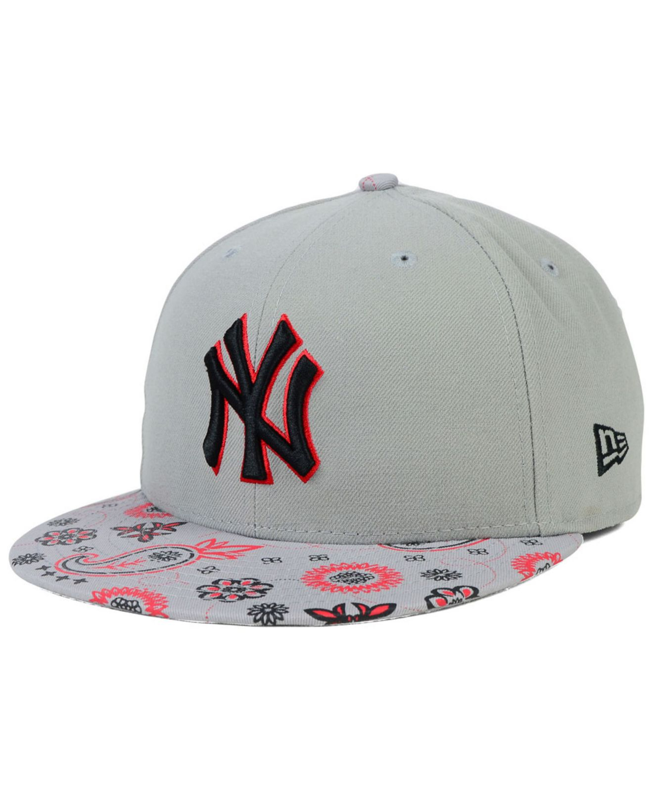 4f7e548d0ba ... australia lyst ktz new york yankees paisley time 59fifty cap in blue  for men e5746 5fd06 ...
