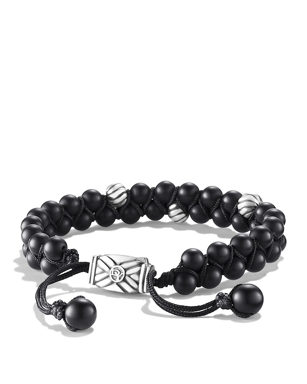 David Yurman Spiritual Beads Bracelet With Black Onyx For