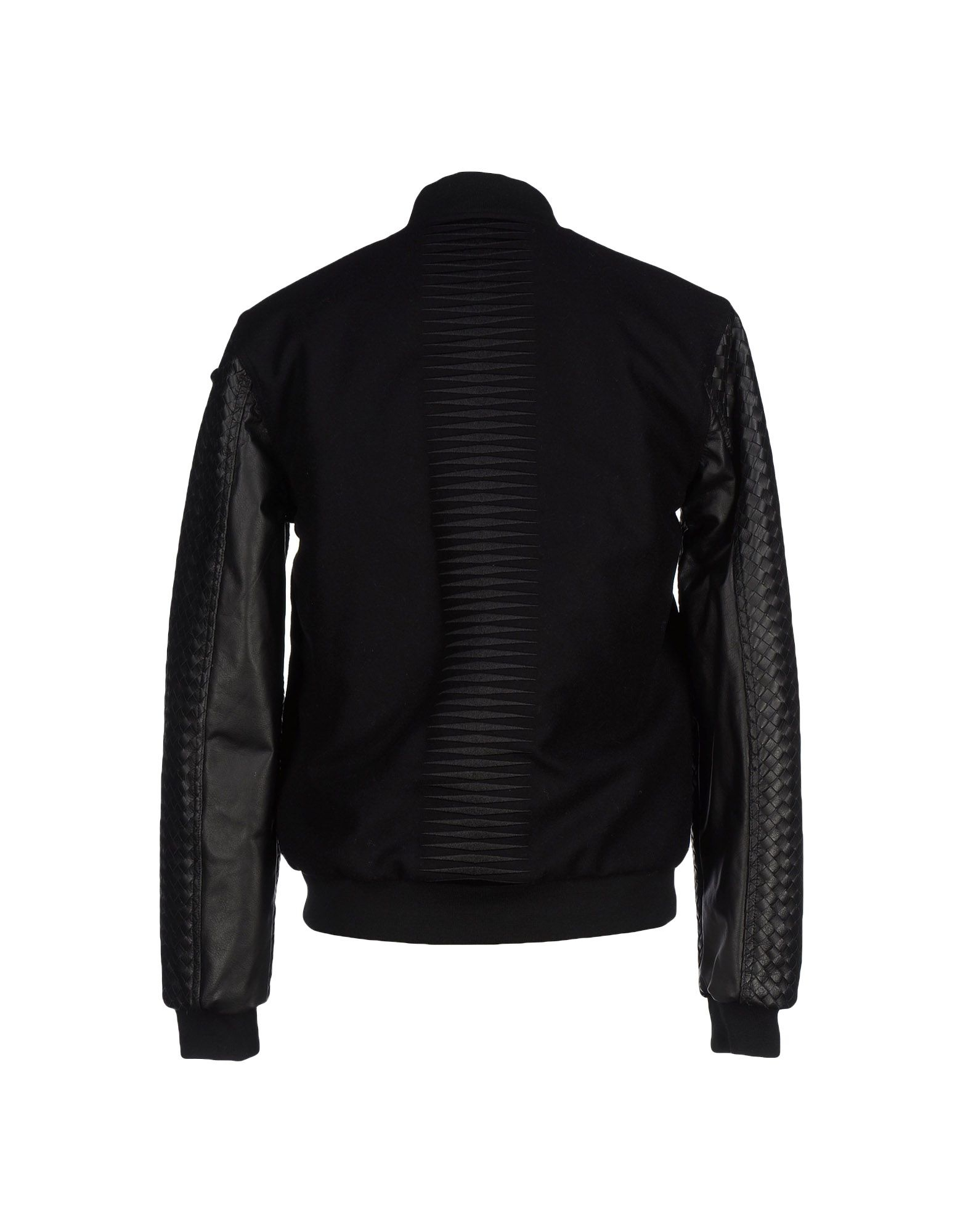 Uppercut Leather Jacket in Black for Men