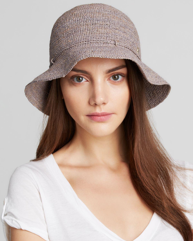 fd2b2e76af7 Helen Kaminski Villa 6 Hat in Gray - Lyst