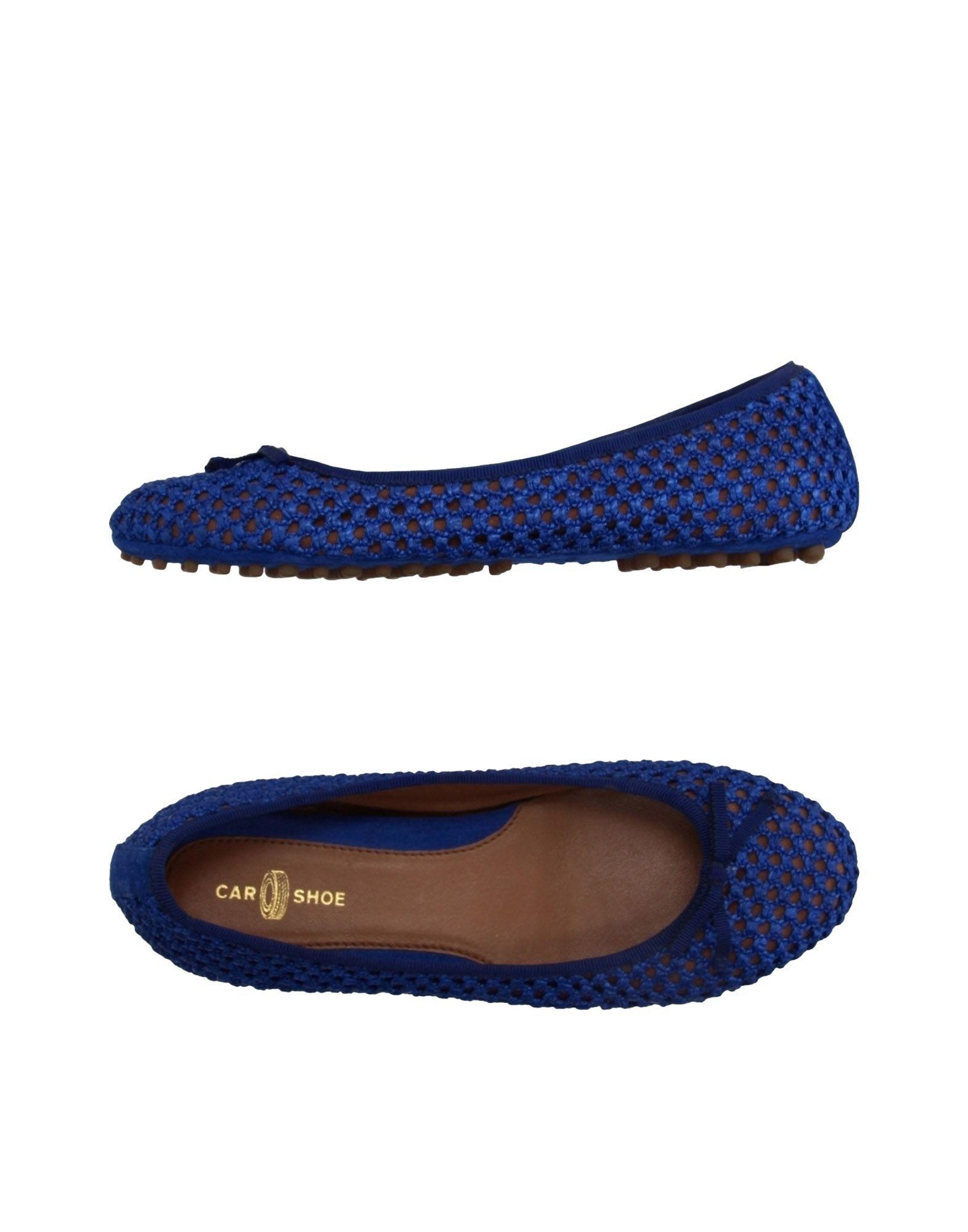 Car Shoe Ballet Flats In Blue (Bright Blue) | Lyst