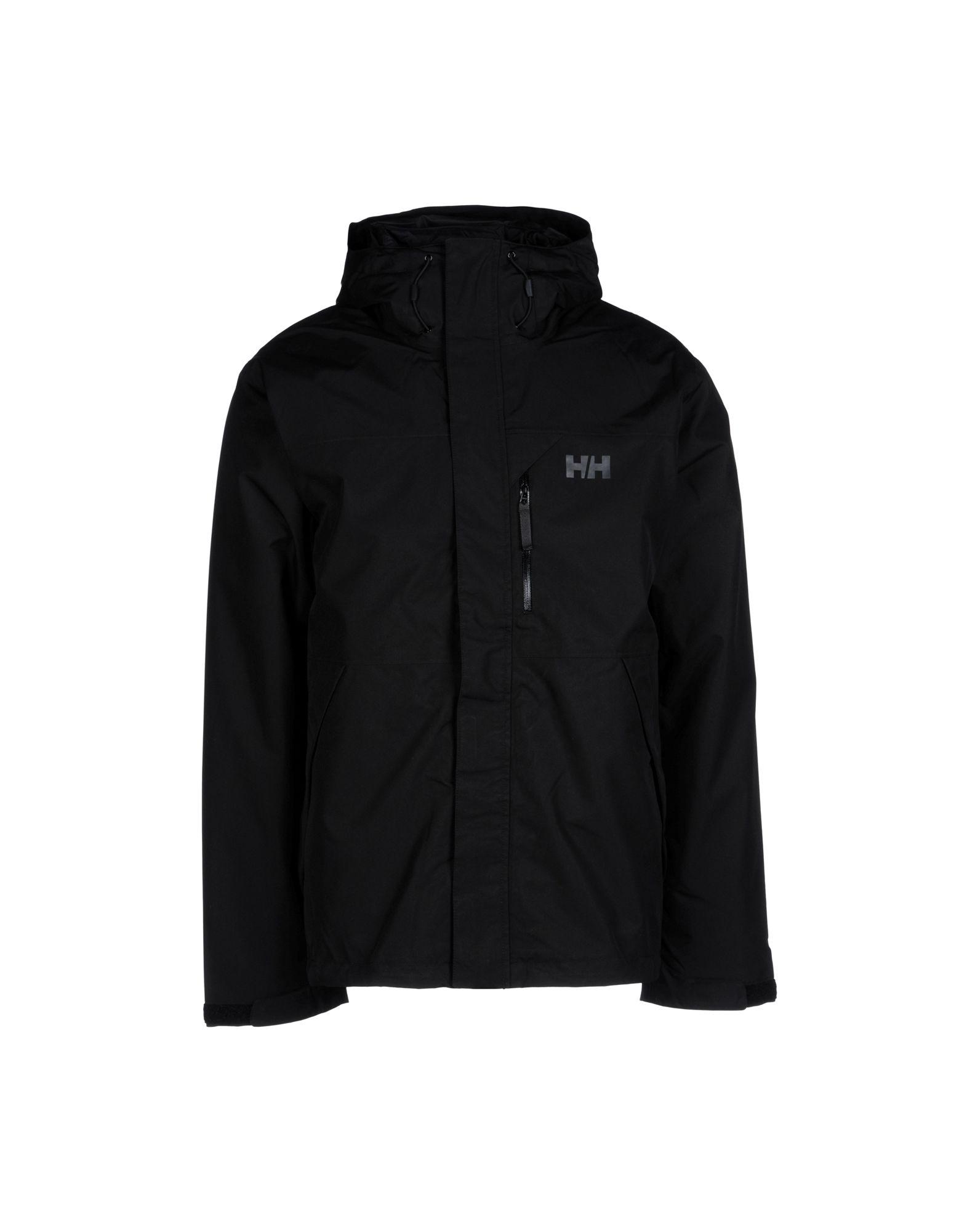 lyst helly hansen jacket in black for men. Black Bedroom Furniture Sets. Home Design Ideas