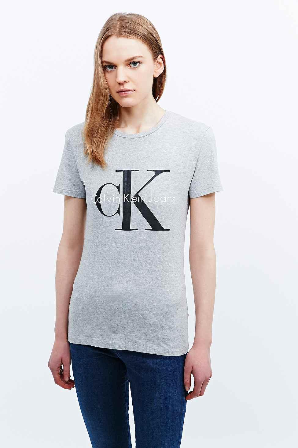Free Shipping Calvin Klein Women's Shrunken Tee Kniited Tank Top For Sale Wholesale Price GG11W0