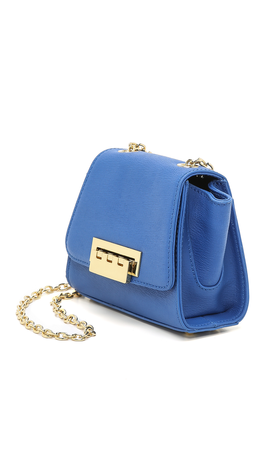 Eartha mini chain backpack - Blue Zac Posen Buy Cheap Reliable Browse For Sale 2018 Newest Online IDEWZnl