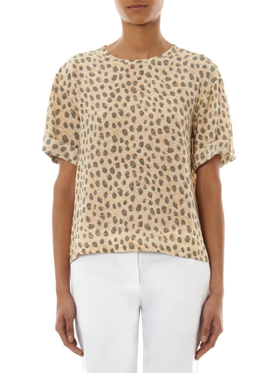 Cheetah Print Blouses