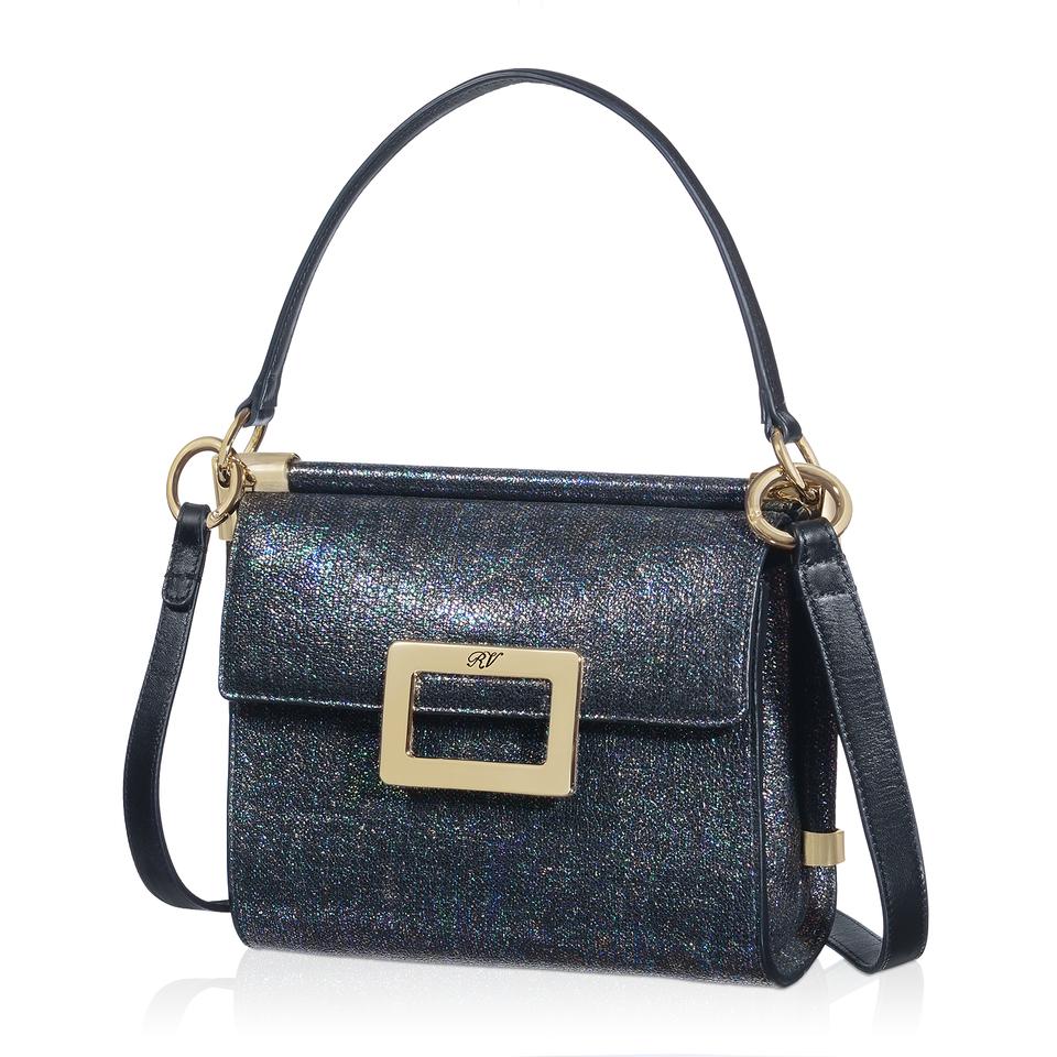 Roger vivier Miss Viv' Mini Shoulder Bag In Leather in ...