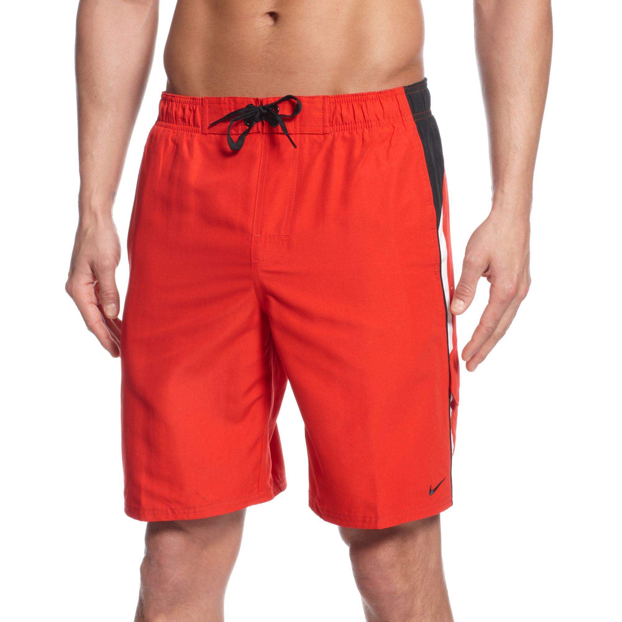 Nike Core Colorblocked 9 Volley Boardshorts in Red for Men ...