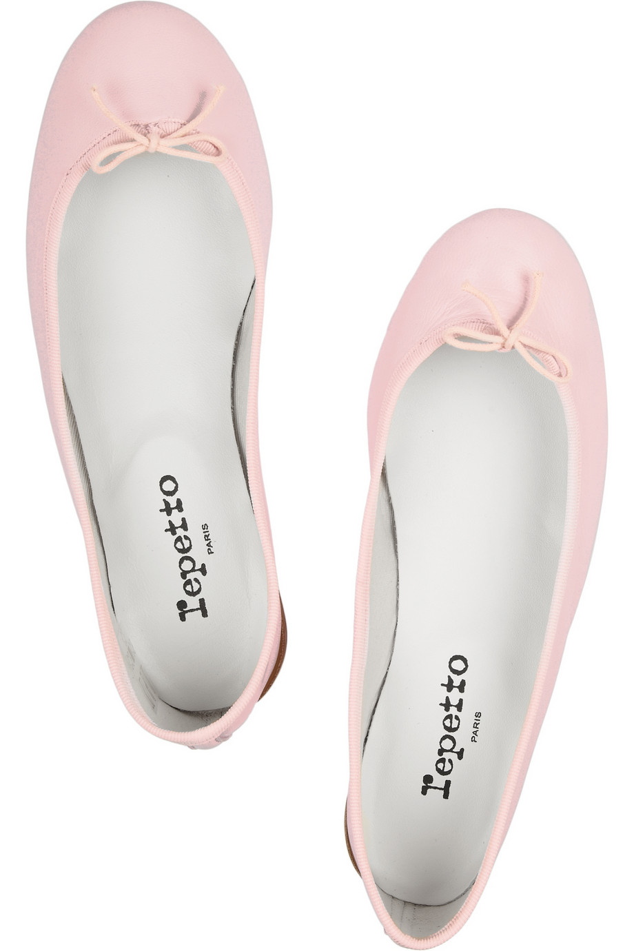 6c44d584ede Repetto Pink The Cendrillon Leather Ballet Flats