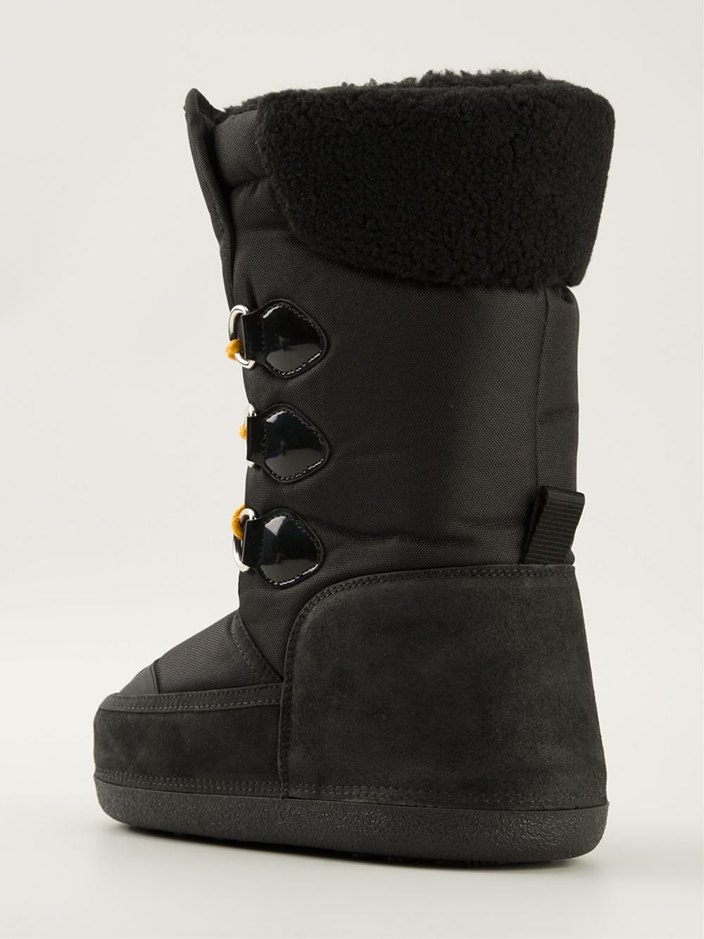 DSquared² Moon Boots in Black for Men
