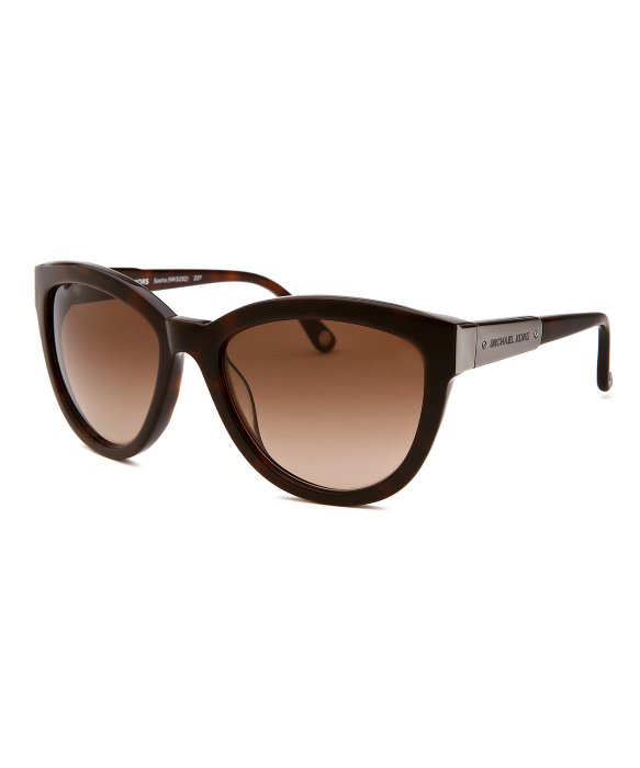 503ddb302f Women s Michael Kors Black Cat Eye Sunglasses
