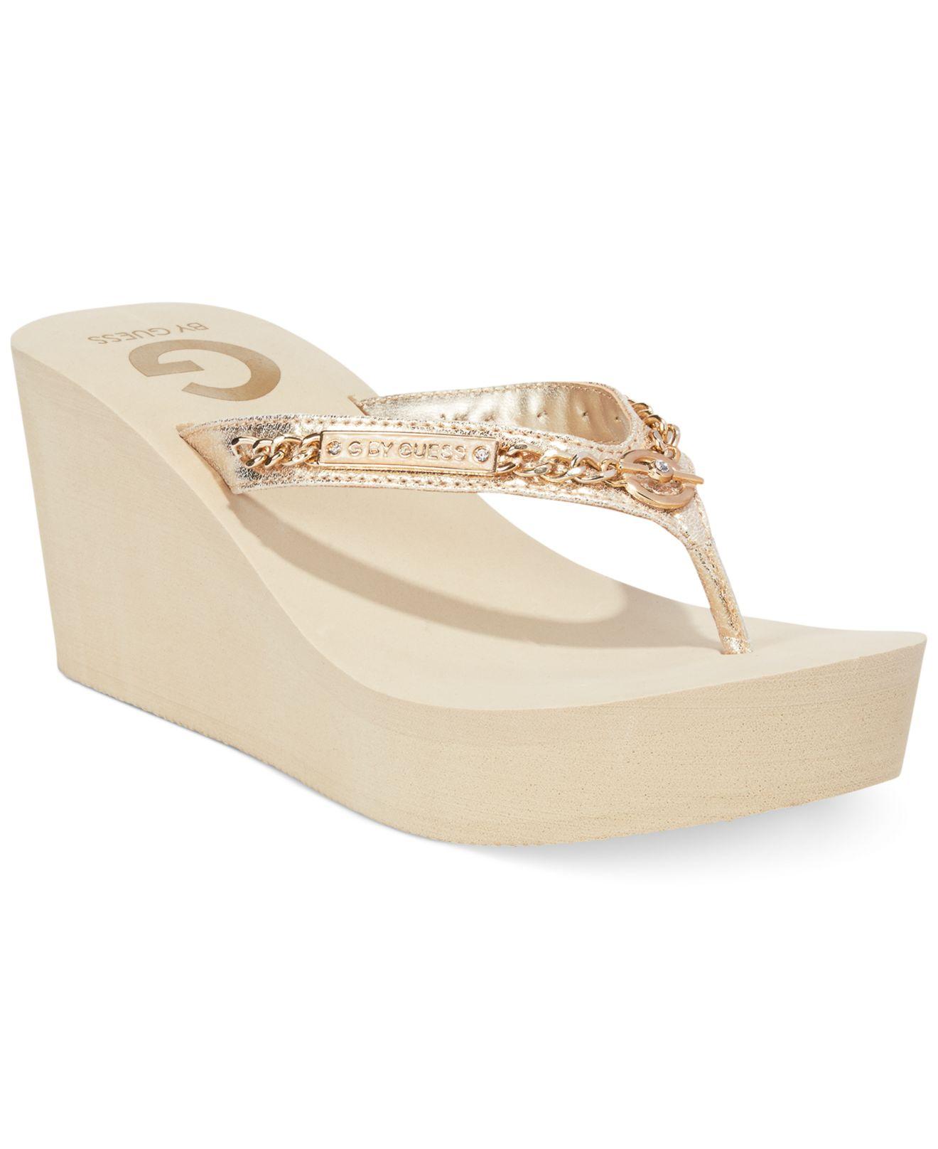 good selling retail prices nice cheap Women'S Suzee Platform Wedge Flip Flops