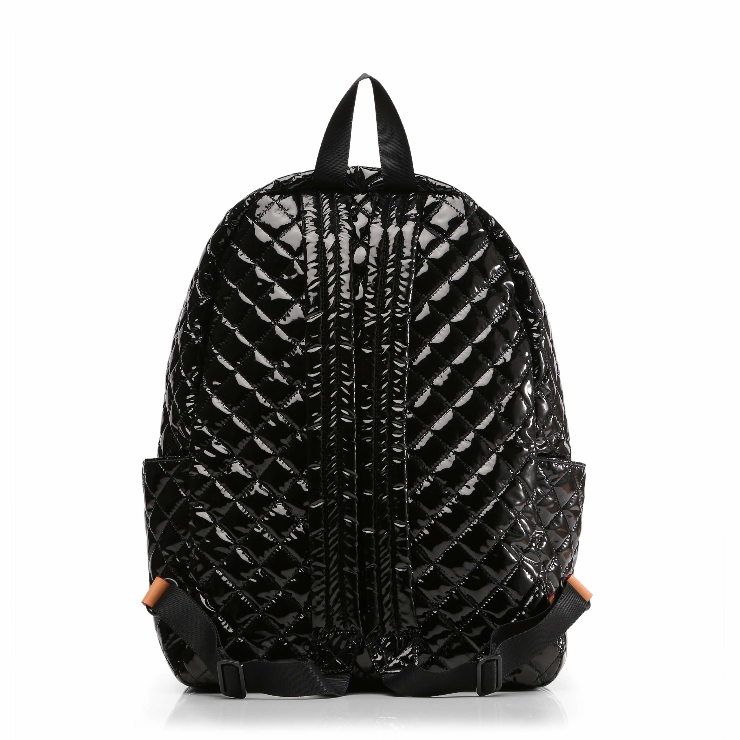 Mz Wallace Black Lacquer Metro Backpack In Black Lyst