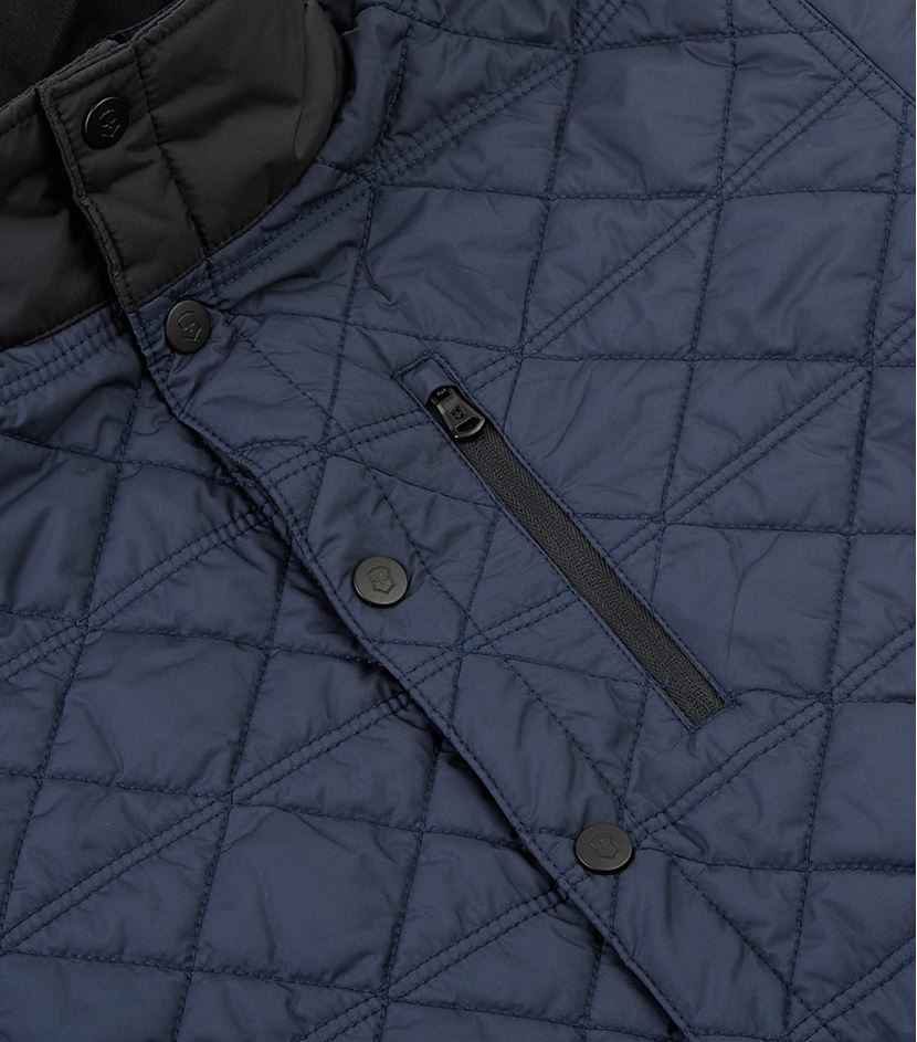Victorinox Bernhold Quilted Jacket in Blue for Men