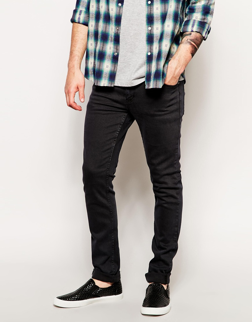 Cheap monday Skinny Jeans in Tight Fit in Black for Men   Lyst