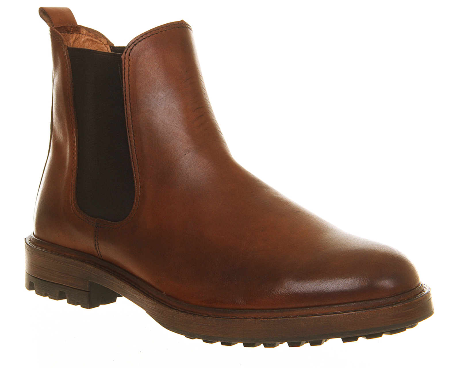 office ambassador chelsea boots in brown for lyst