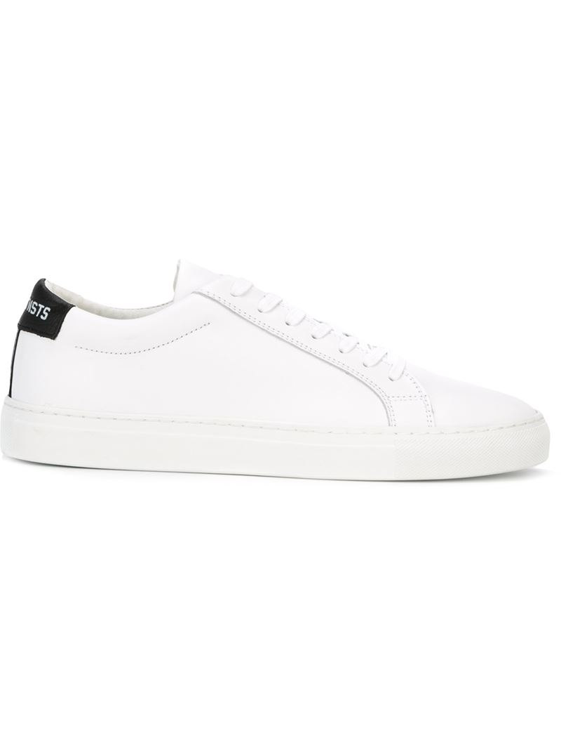 00ab7826c86e Lyst - LES (ART)ISTS Leather Low-Top Sneakers in White for Men