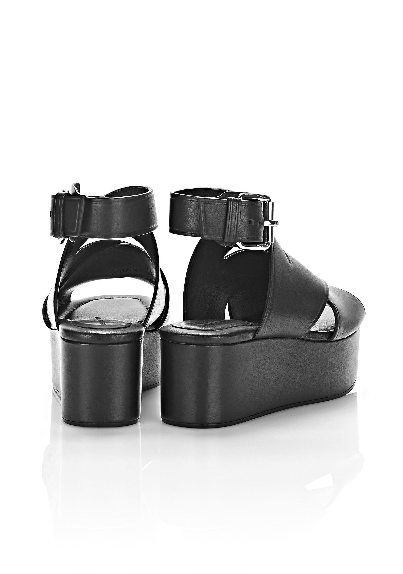 9600f4511fb Lyst - Alexander Wang Rudy Platform Sandal in Black