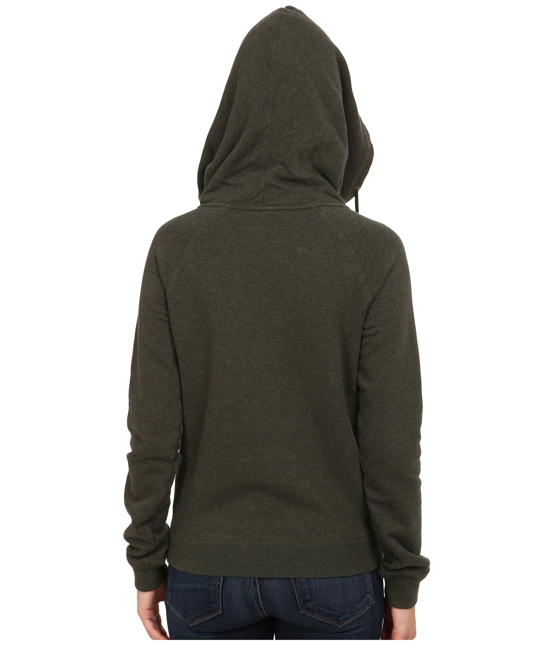 7ce612dcb438 Lyst - Nike Rally Funnel Neck Hoodie in Green