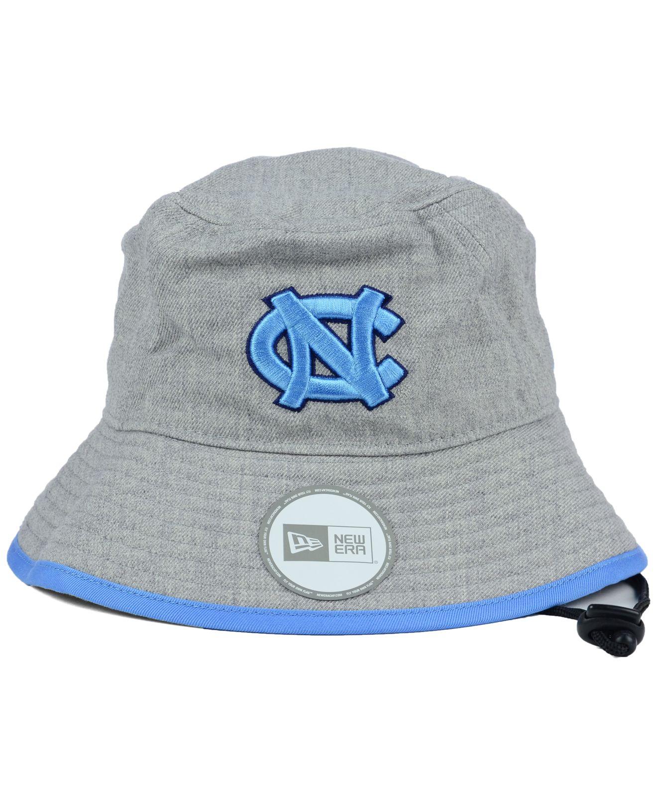 ... low cost lyst ktz north carolina tar heels tip bucket hat in gray for  men 397af ... d94a36d0df4