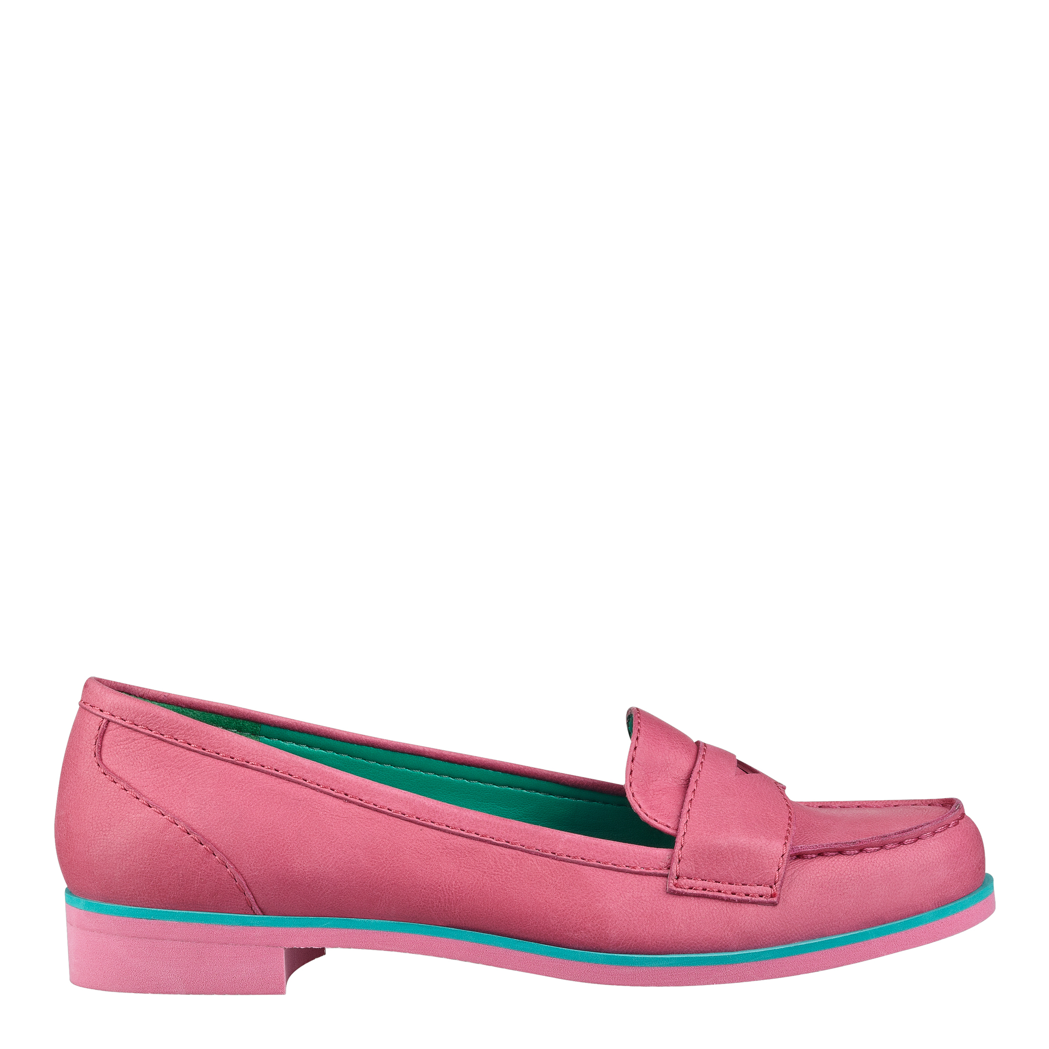 nine west sabeena loafers loafers in pink lyst