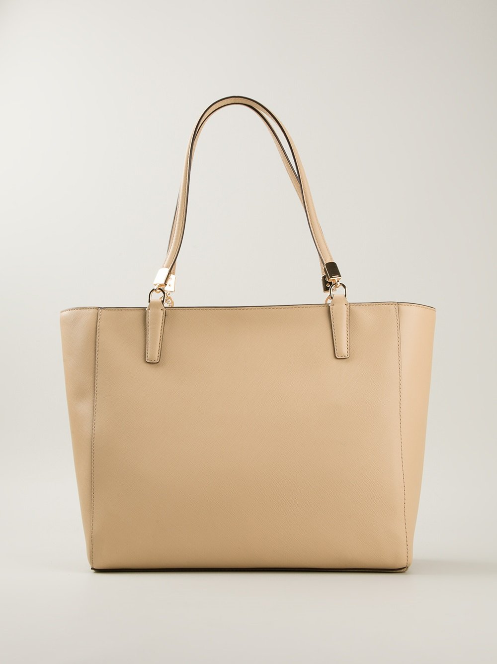 COACH Madison Eastwest Tote in Natural