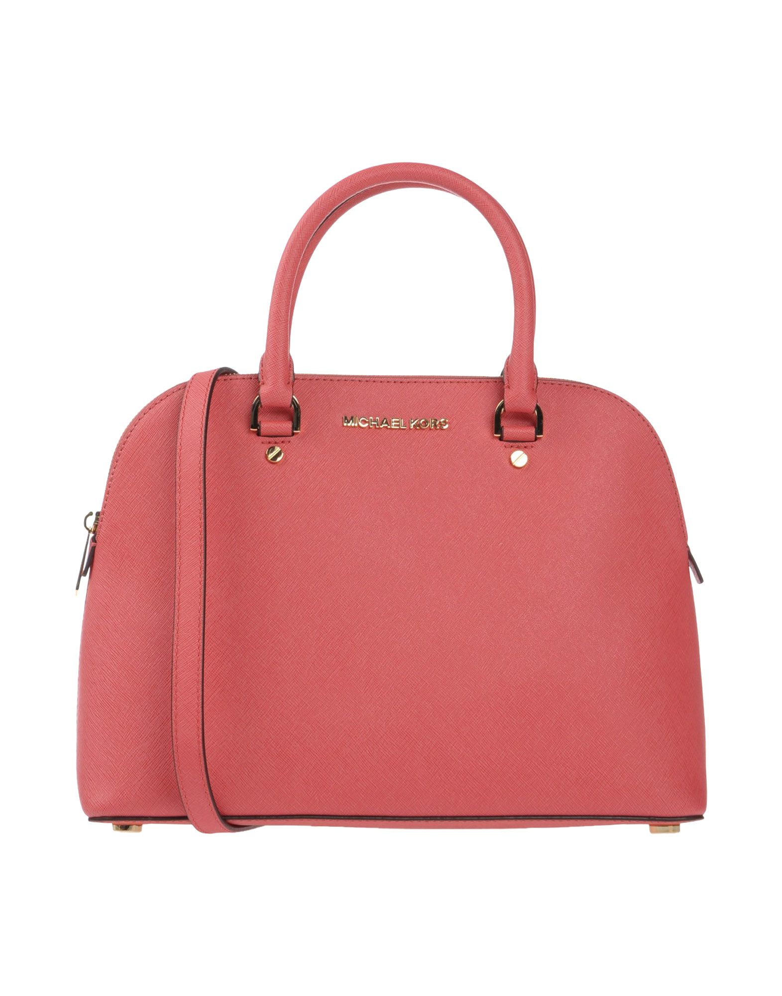 michael michael kors handbag in pink coral lyst. Black Bedroom Furniture Sets. Home Design Ideas