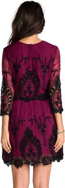Lyst - Dolce Vita Valentina Dress in Burgundy in Purple