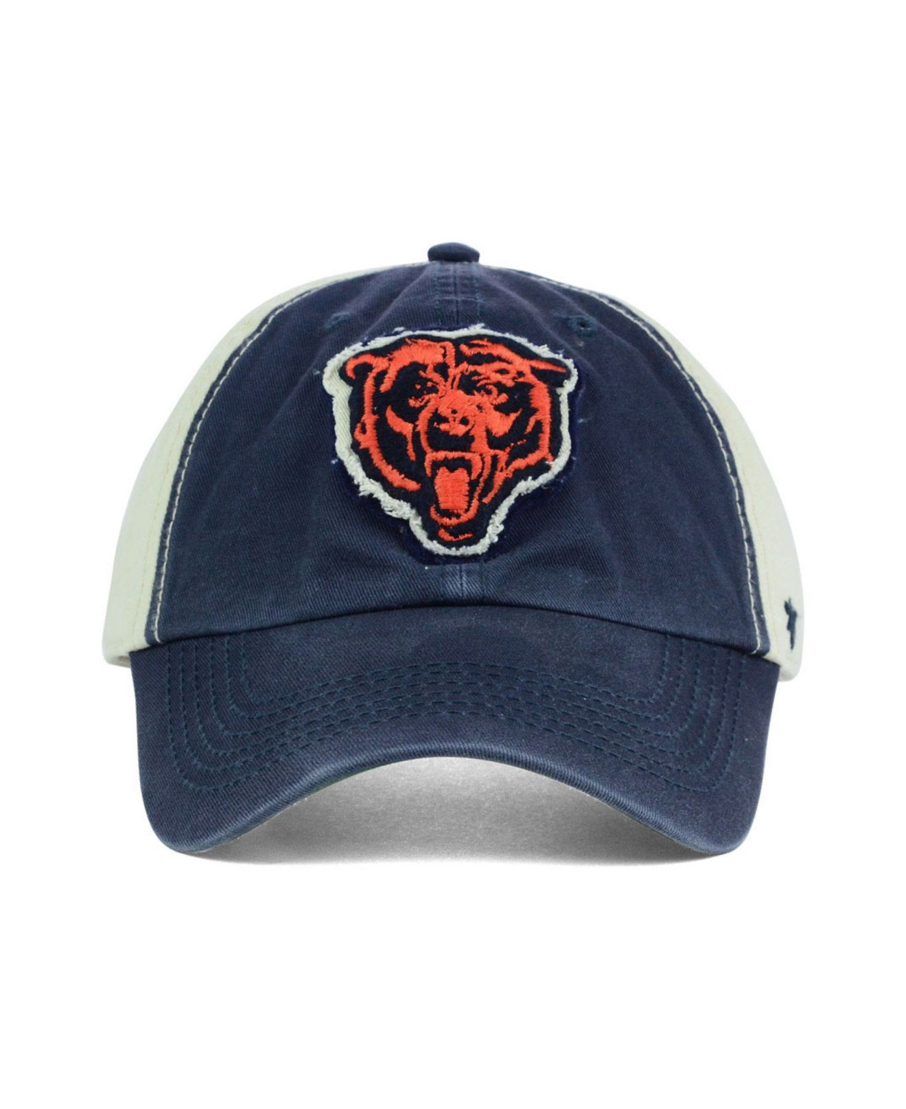 a9c6594e 47 Brand Blue Chicago Bears Nfl Derby Clean Up Cap for men