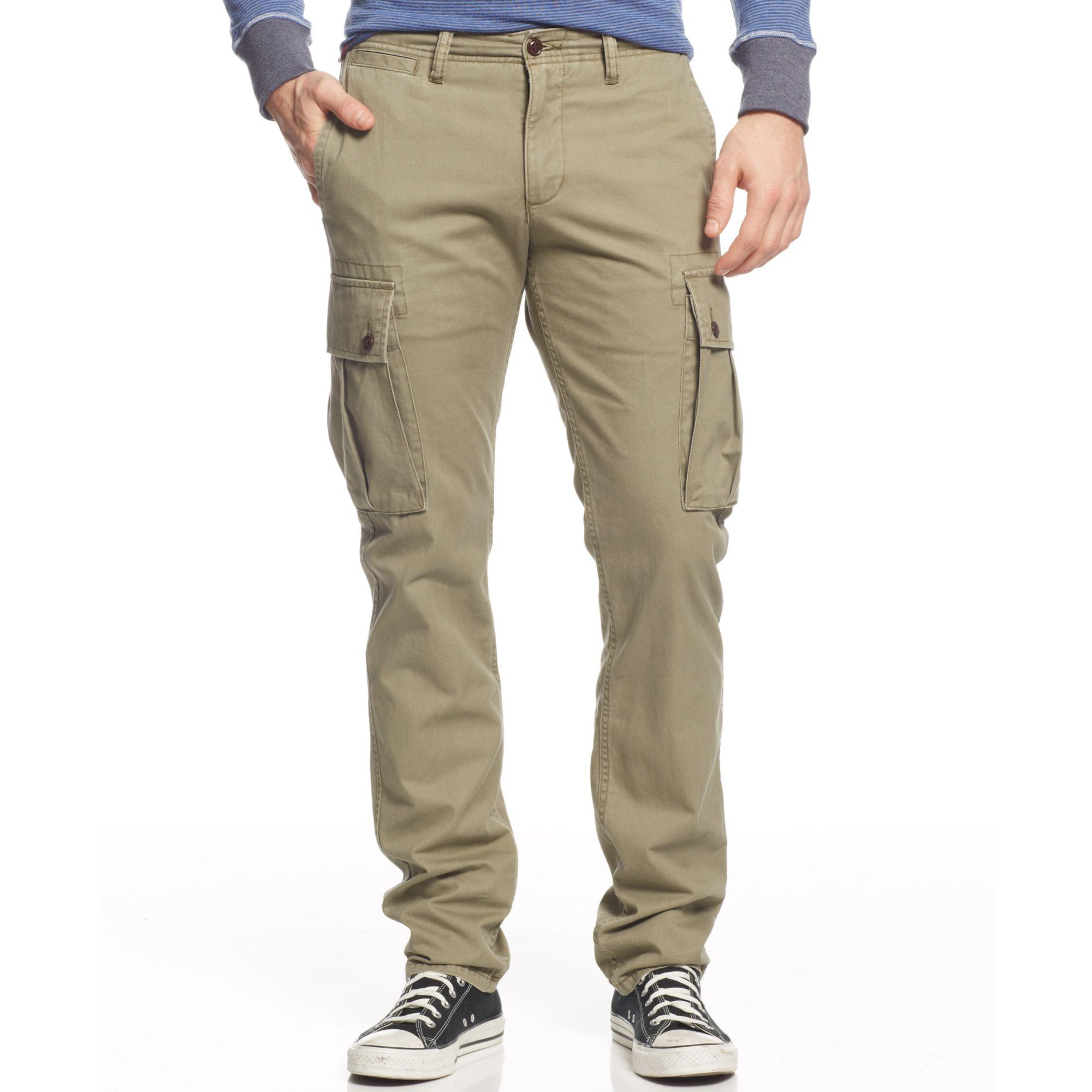 Olive Jeans Mens