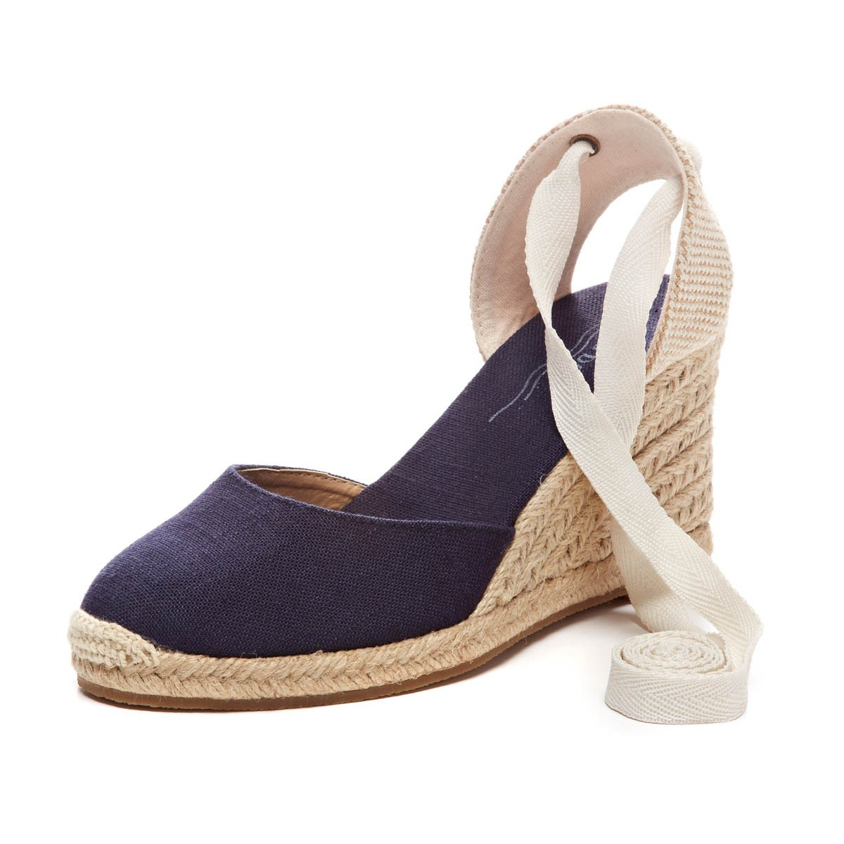 24d58f8f482 Lyst - Soludos Tall Wedge in Blue