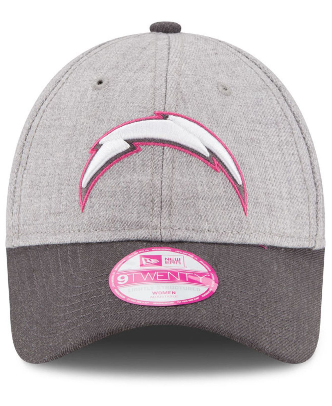 San Diego Chargers Cap: Ktz Women's San Diego Chargers Breast Cancer