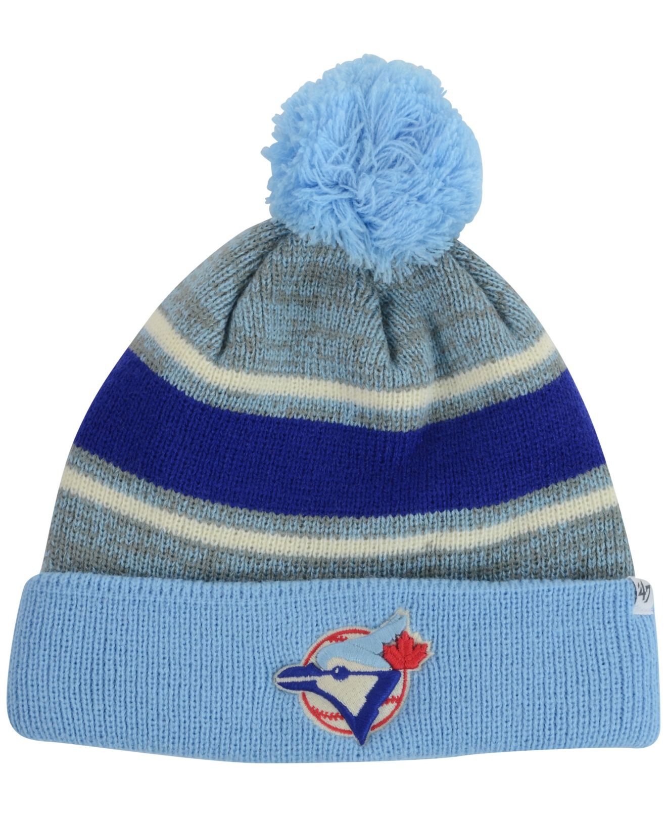 a130235d8e1 Lyst - 47 Brand Toronto Blue Jays Fairfax Knit Hat in Blue for Men
