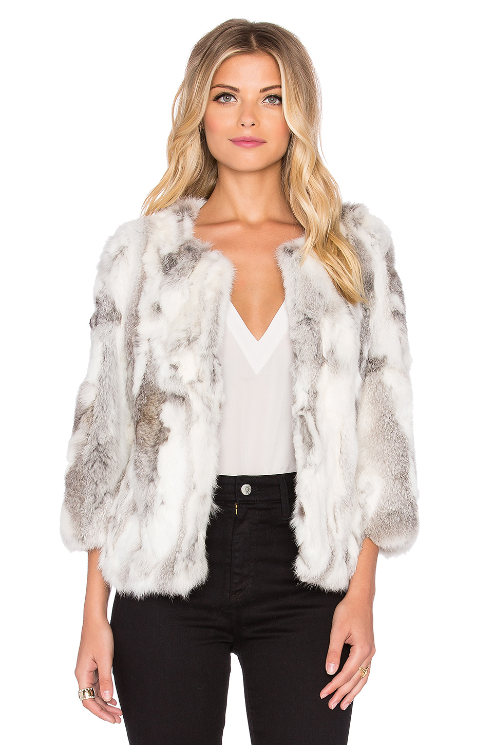 Rabit Fur Coat - Tradingbasis