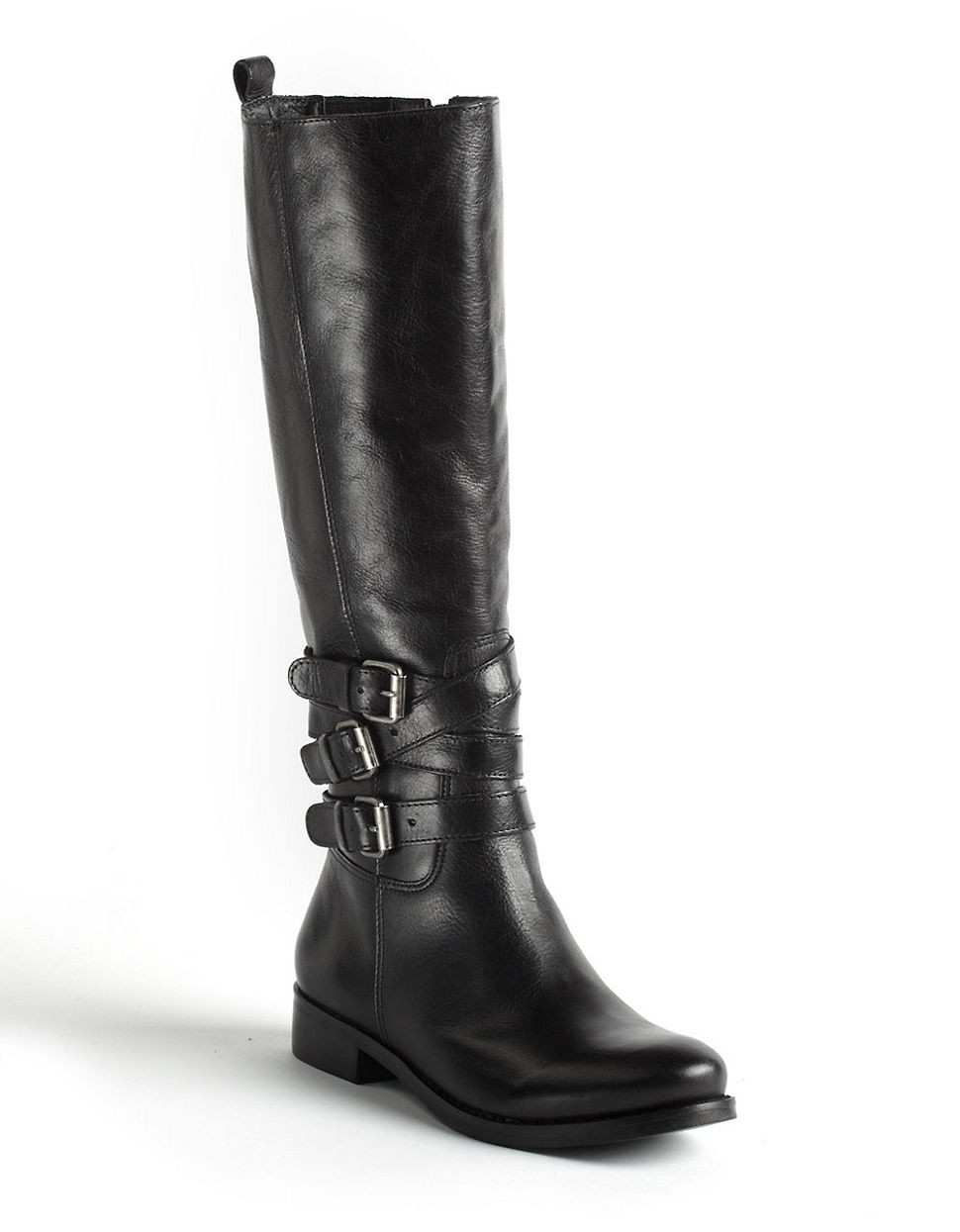 matisse prestige leather boots in black lyst