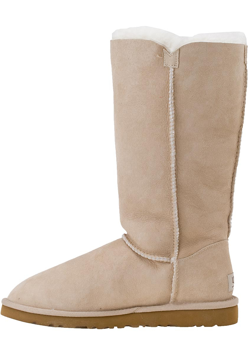 8195e876b16 UGG Natural Bailey Button Triplet Boot Sand Suede