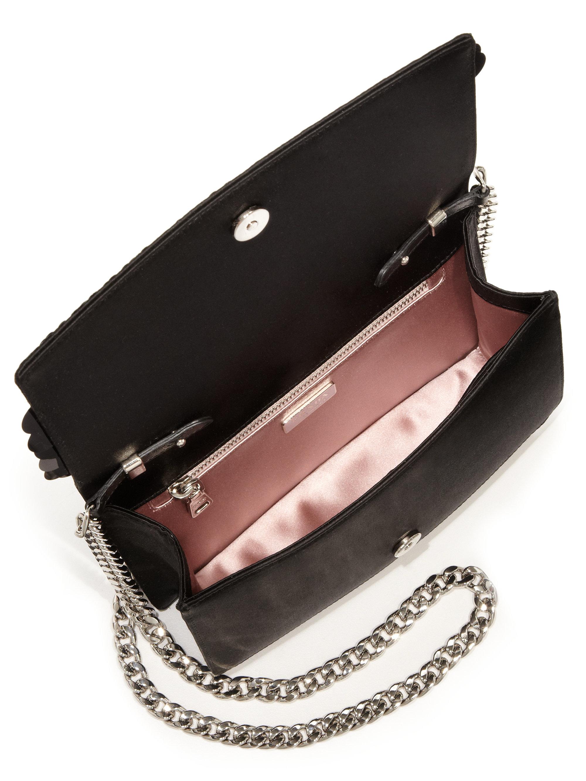 d06a972c89 italy prada satin raso framed evening bag pink 26431 2cbfb 00d24   switzerland lyst prada paillete evening clutch in black ef6a5 afa90