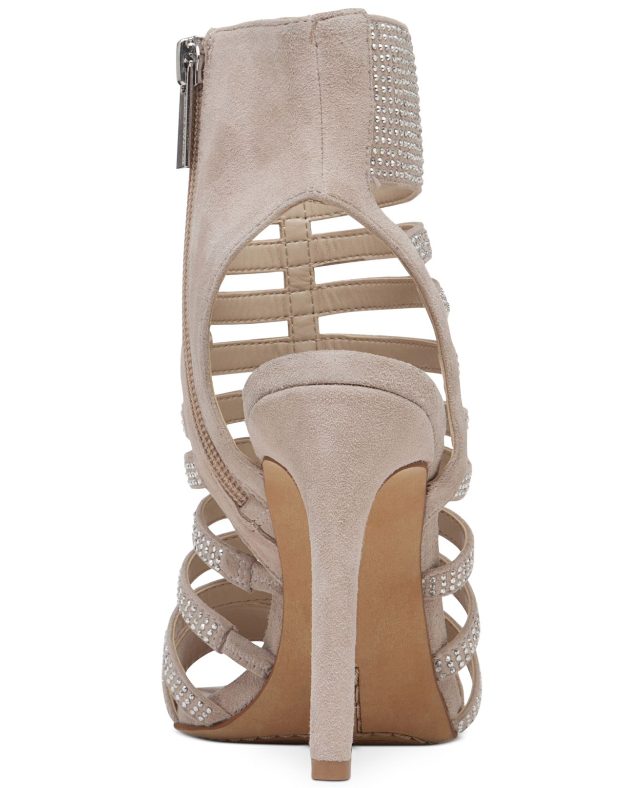 Vince Camuto Katal Gladiator Evening Sandals In Natural Lyst
